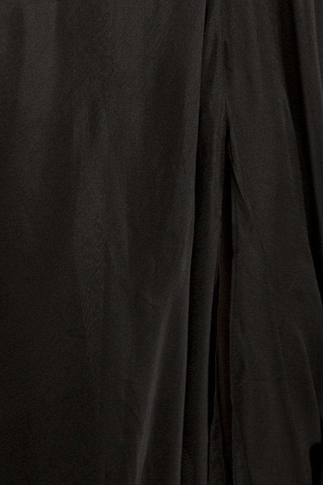 Robe en mélange de soie satinée à dos nu Lia Aram image 4