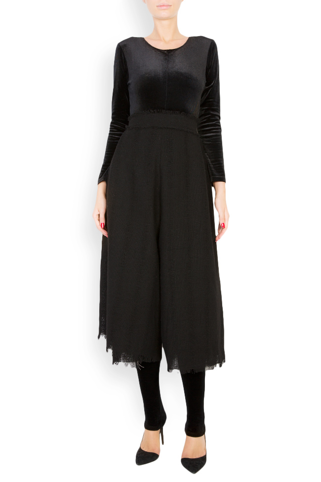 Pantalon large en laine Lia Aram image 0