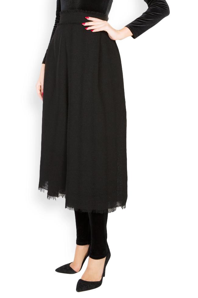 Pantalon large en laine Lia Aram image 1