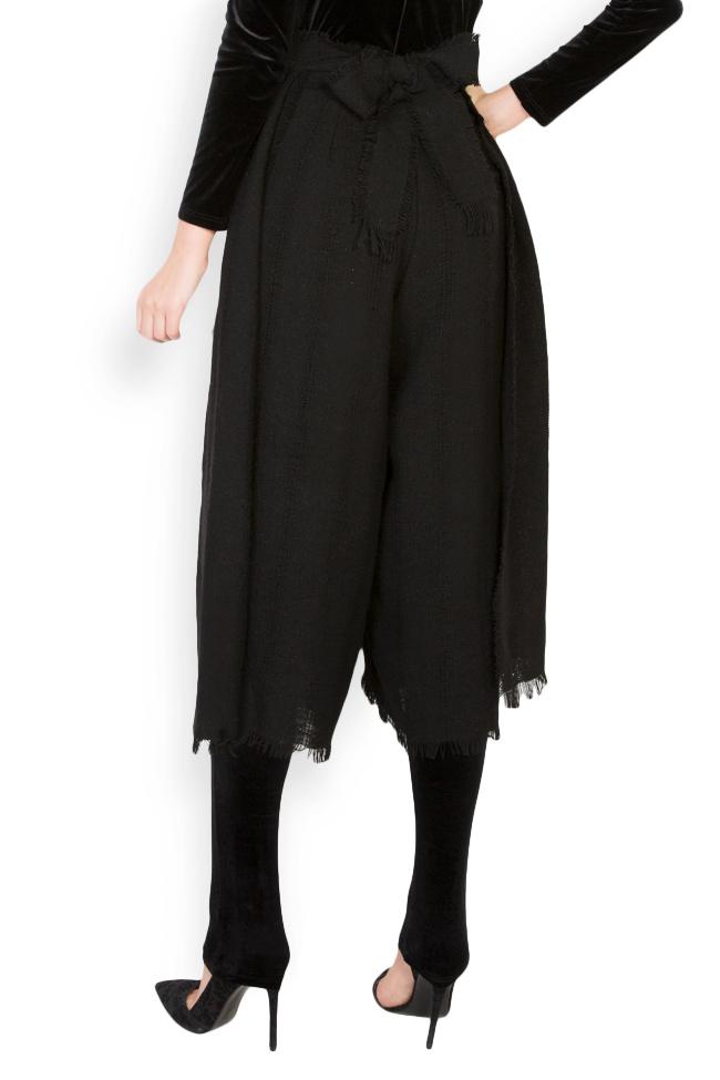 Pantalon large en laine Lia Aram image 2