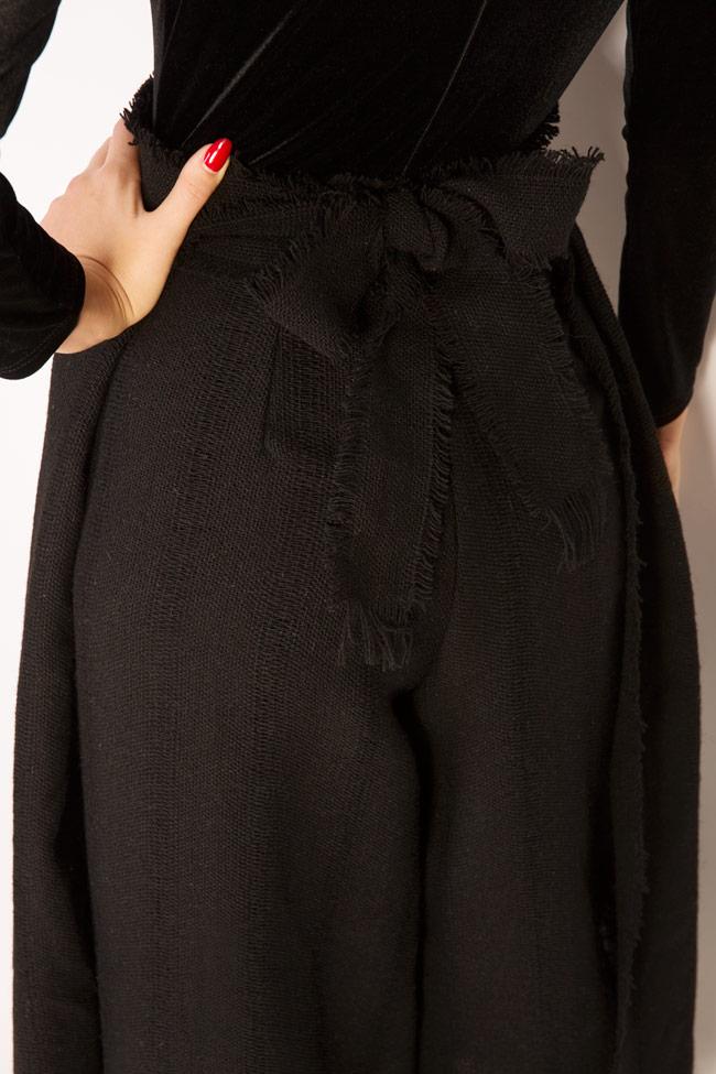 Pantalon large en laine Lia Aram image 3
