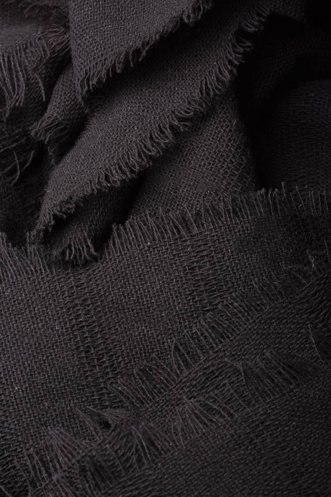 Pantalon large en laine Lia Aram image 4