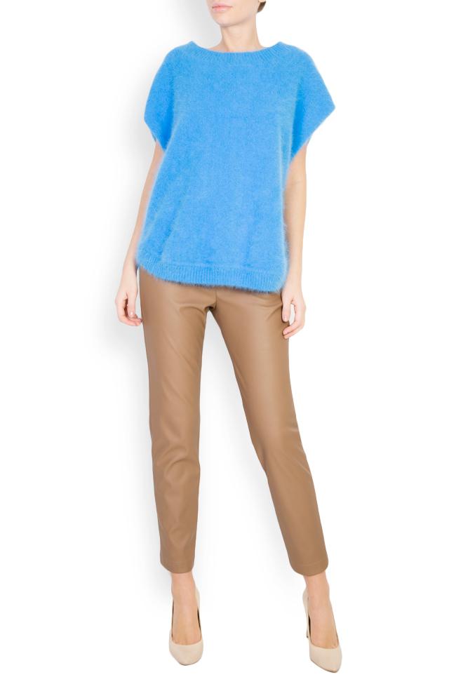 Pantaloni din piele ecologica  Acob a Porter imagine 1