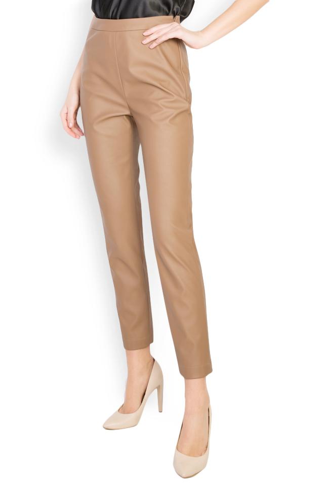 Pantaloni din piele ecologica  Acob a Porter imagine 0