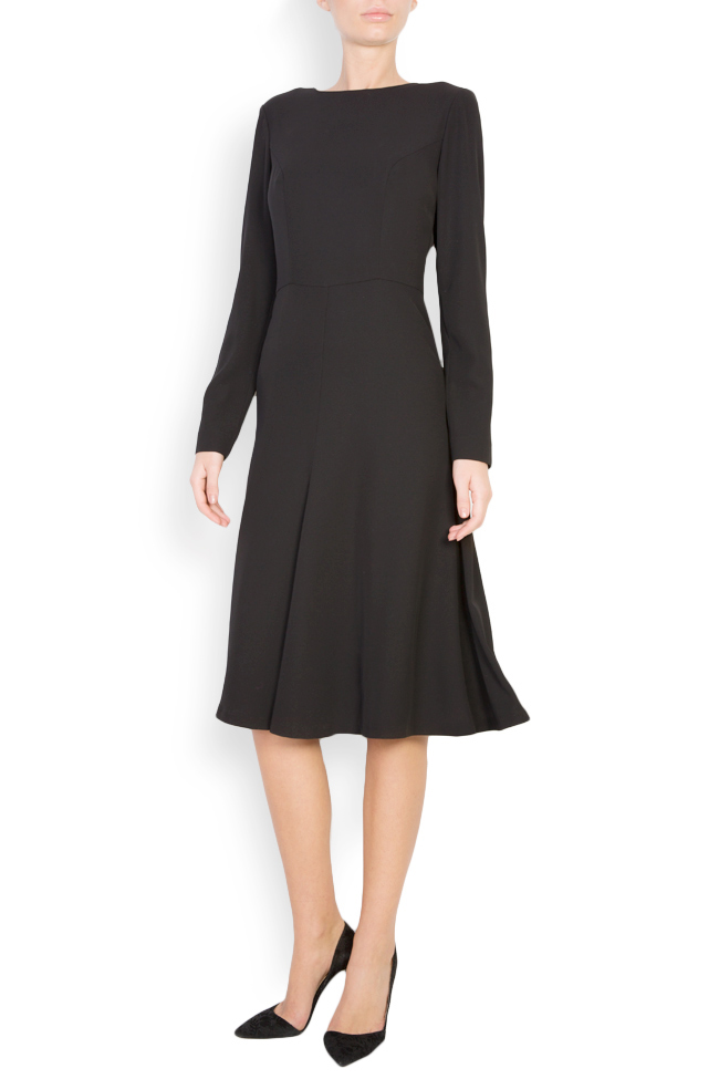 Cotton-blend midi dress Acob a Porter image 0