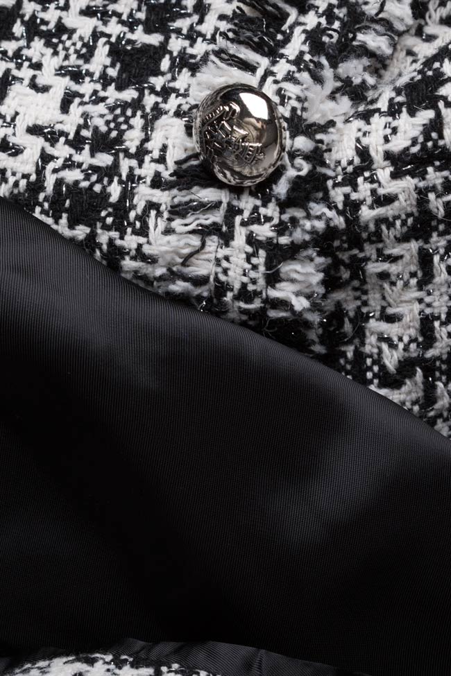 Veste classique bicolore en coton Acob a Porter image 4