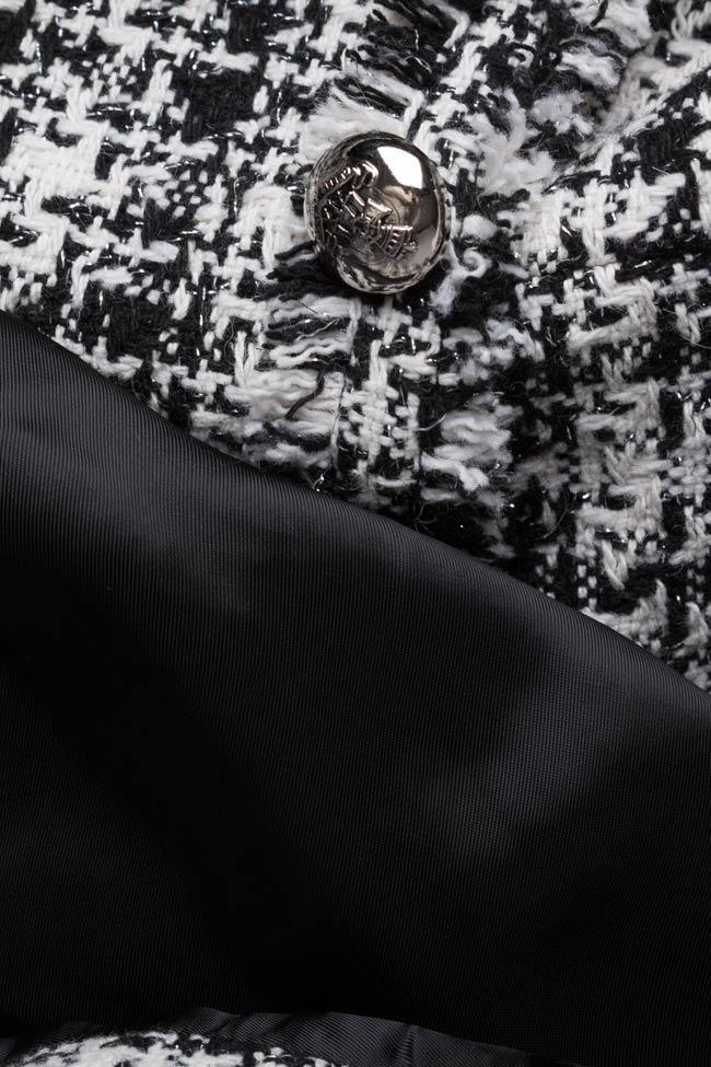 Classic bicolored cotton-blend jacket Acob a Porter image 4