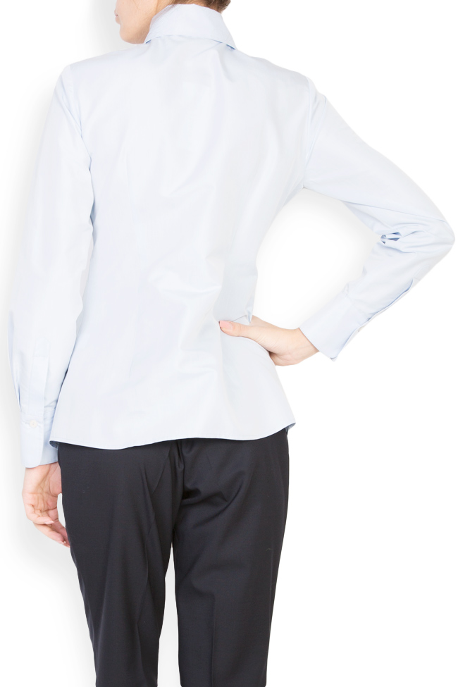 Cotton shirt with round collar Acob a Porter image 2