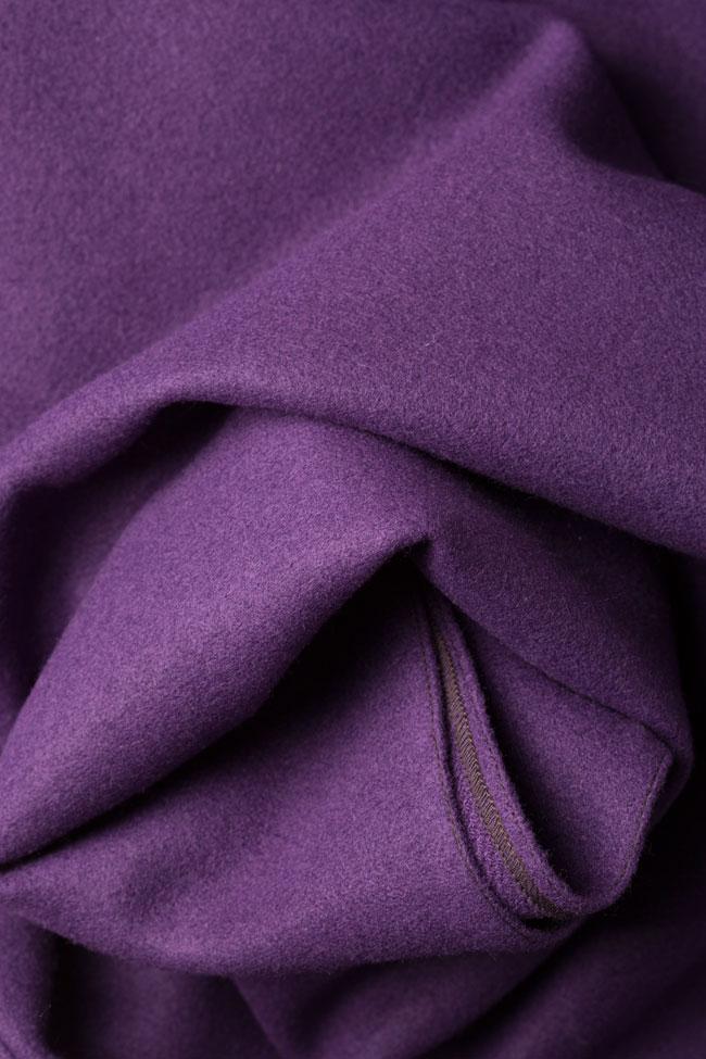 Rochie midi din stofa de lana Carmen Ormenisan imagine 4