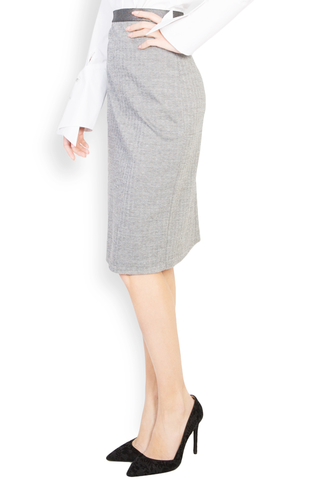 Wool midi skirt Carmen Ormenisan image 1