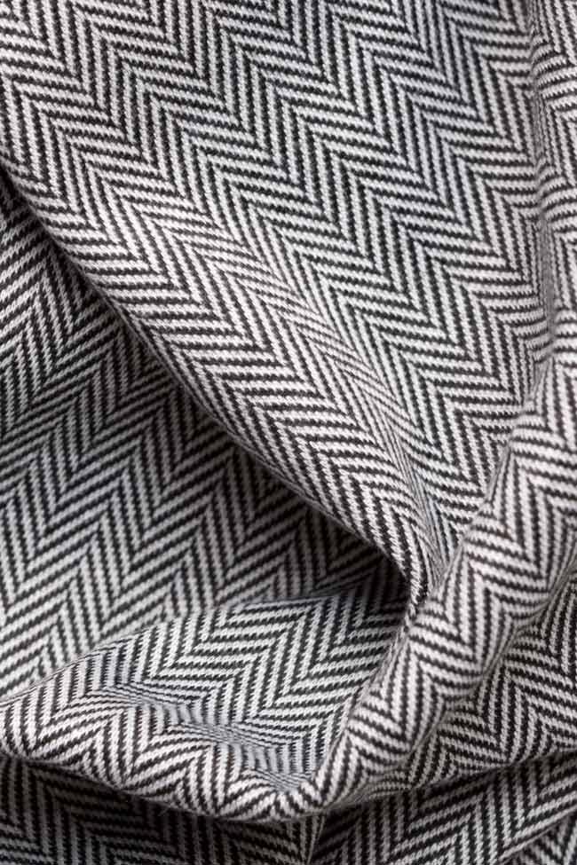 Jupe midi en étoffe de laine Carmen Ormenisan image 4