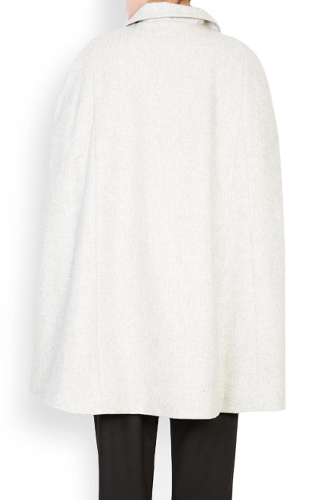 Cape en étoffe de laine Mariana Ciceu image 2