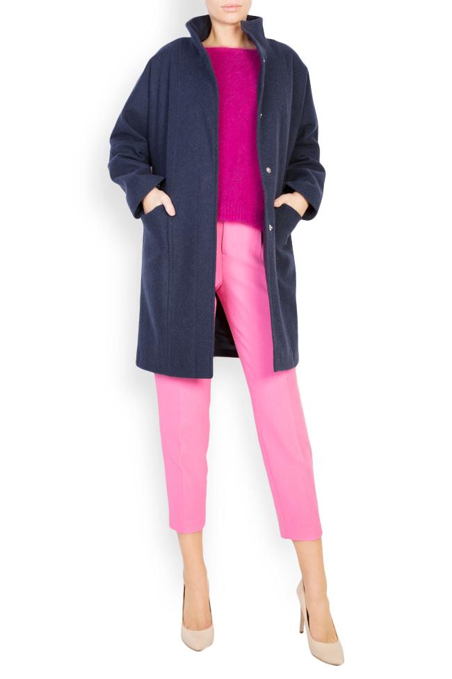 Manteau surdimensionné en étoffe de laine Mariana Ciceu image 0