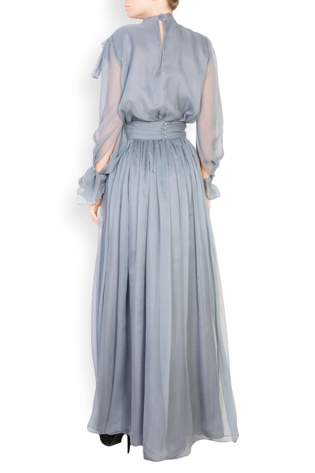 Anamarie silk maxi dress Azzara by Mirela Pellegrini image 2