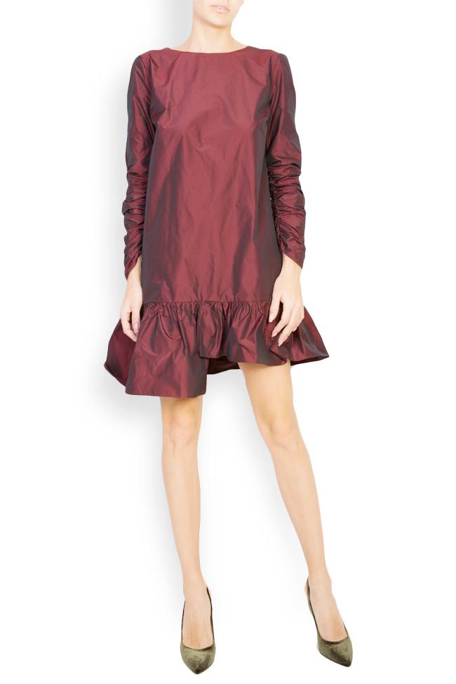 Mora asymmetric taffeta dress Mirela Pellegrini image 0