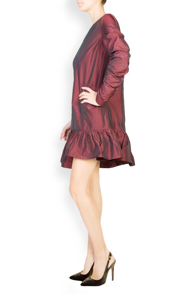 Mora asymmetric taffeta dress Mirela Pellegrini image 1