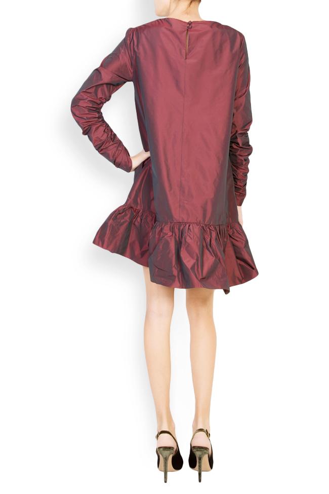 Mora asymmetric taffeta dress Mirela Pellegrini image 2