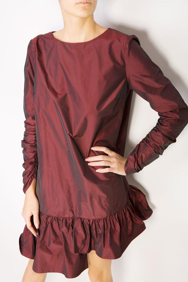 Mora asymmetric taffeta dress Mirela Pellegrini image 3