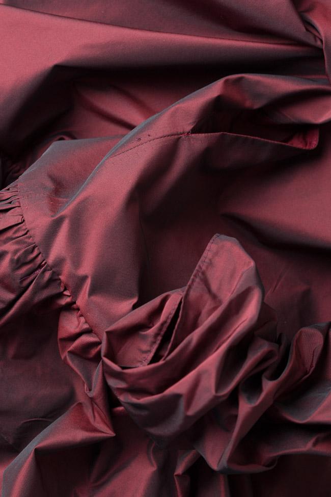 Mora asymmetric taffeta dress Mirela Pellegrini image 4