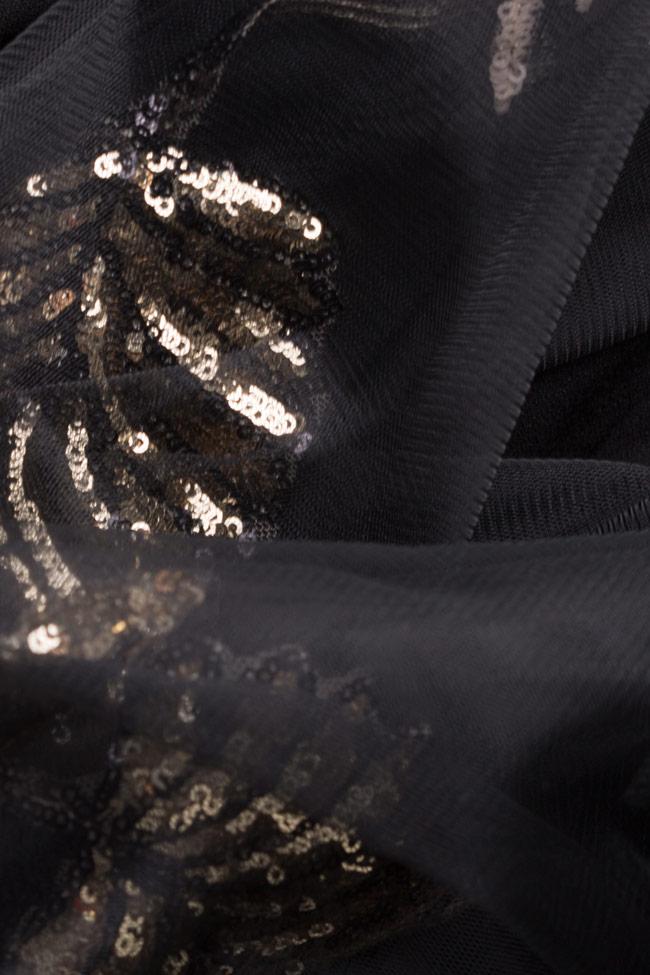 Alexis embellished crepe tulle dress  Simona Semen image 4