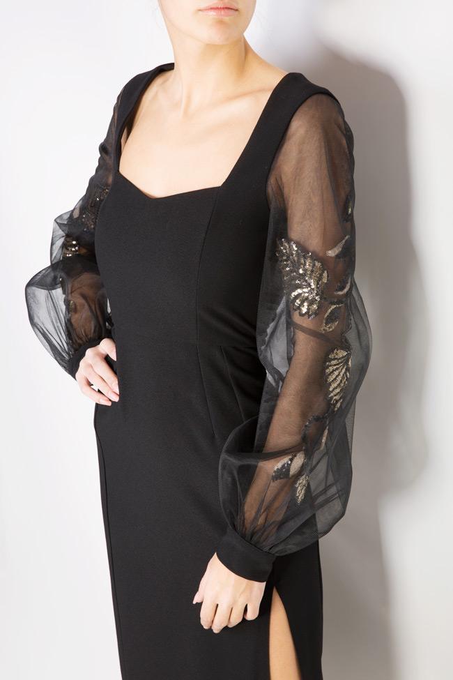 Alexis embellished crepe tulle dress  Simona Semen image 3