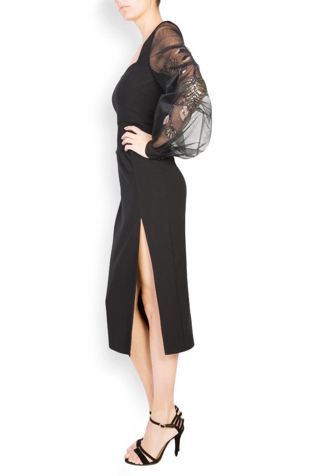 Alexis embellished crepe tulle dress  Simona Semen image 1