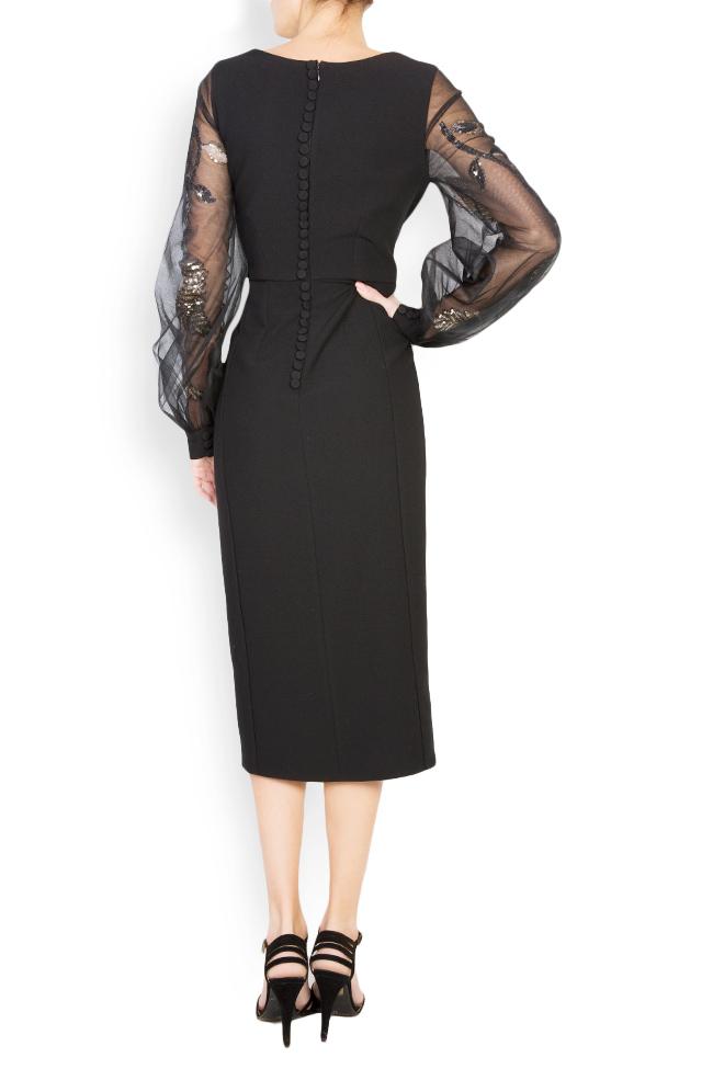 Alexis embellished crepe tulle dress  Simona Semen image 2