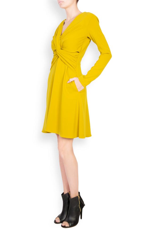 Knotted crepe mini dress Bluzat image 1