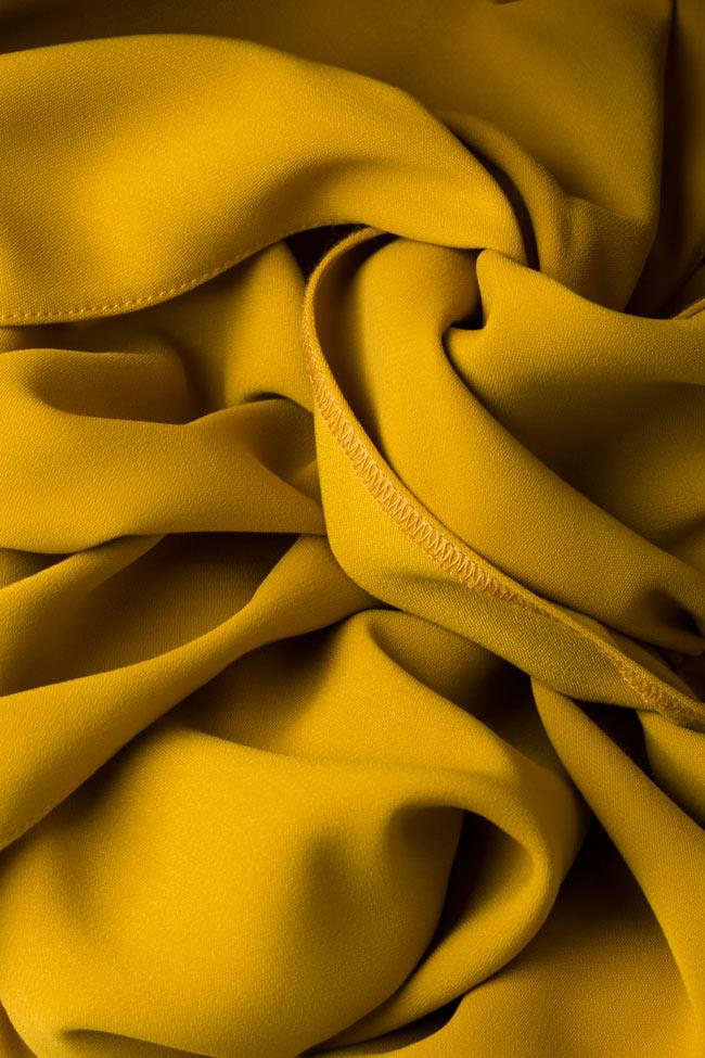 Knotted crepe mini dress Bluzat image 4