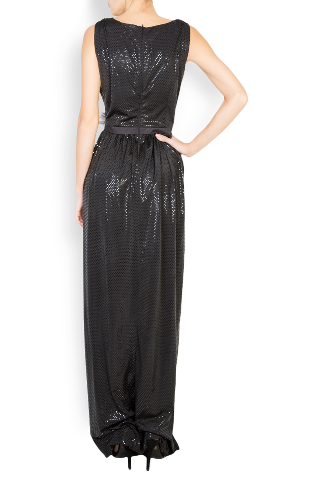 Embellished coated-tulle maxi dress   Andrei Spiridon image 2