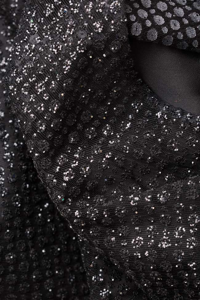 Sequinned embellished tulle gown Atelier Maria Iftimoaie image 4