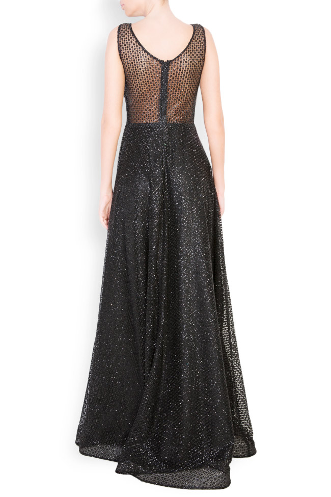 Sequinned embellished tulle gown Atelier Maria Iftimoaie image 2