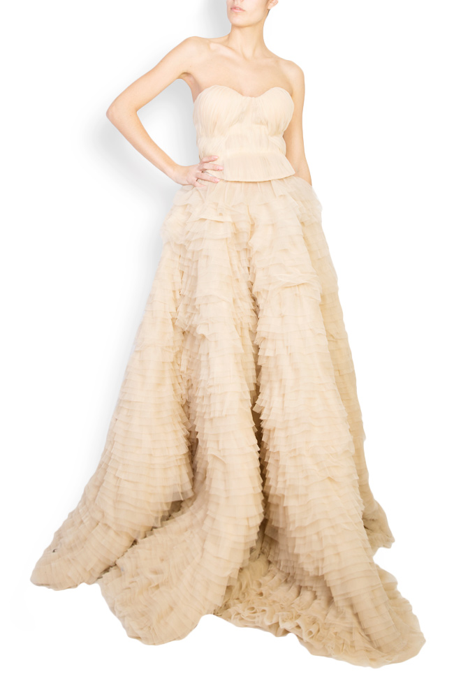 Robe en tulle avec volants multiples Bella Womanland by Irina Mazilu image 0