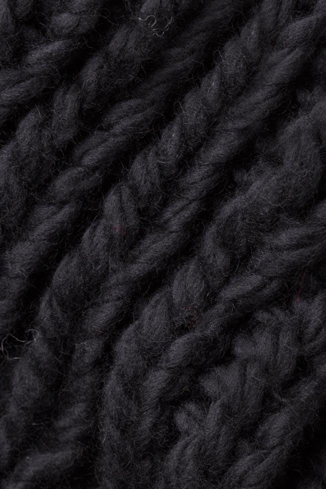 Robe type pull en laine mérinos Dorin Negrau image 4