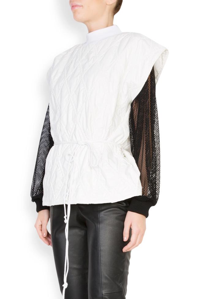 Embroidered shell vest Dorin Negrau image 1