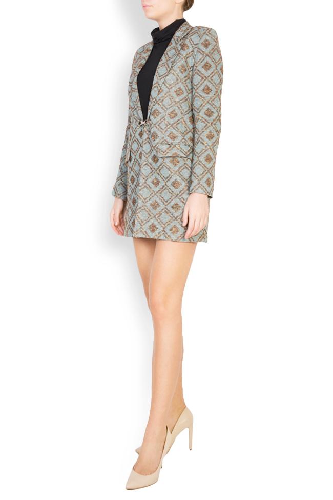 Printed wool blazer Womanland by Irina Mazilu image 1