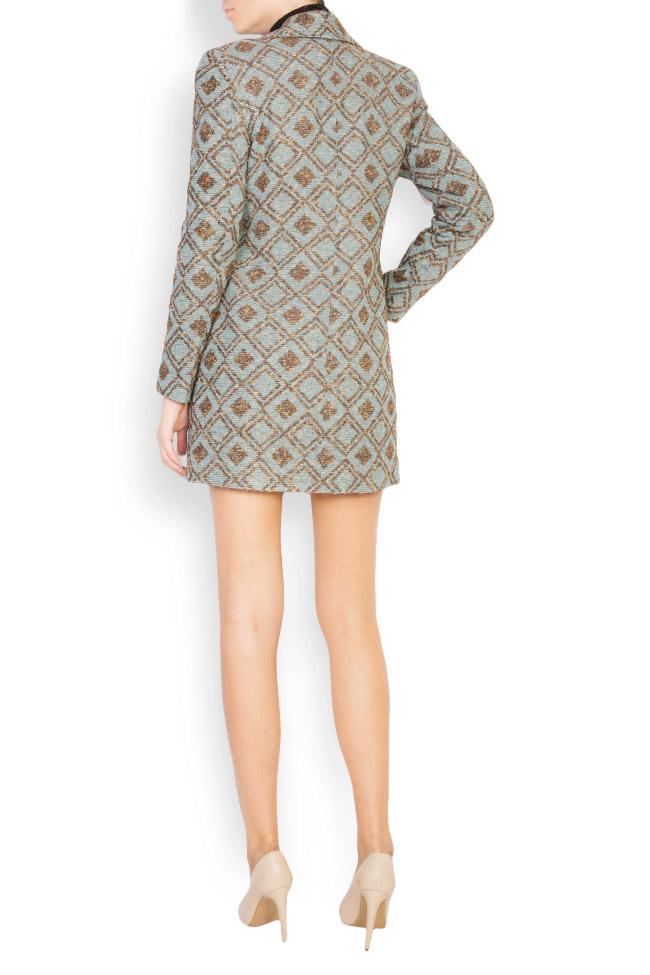 Printed wool blazer Womanland by Irina Mazilu image 2