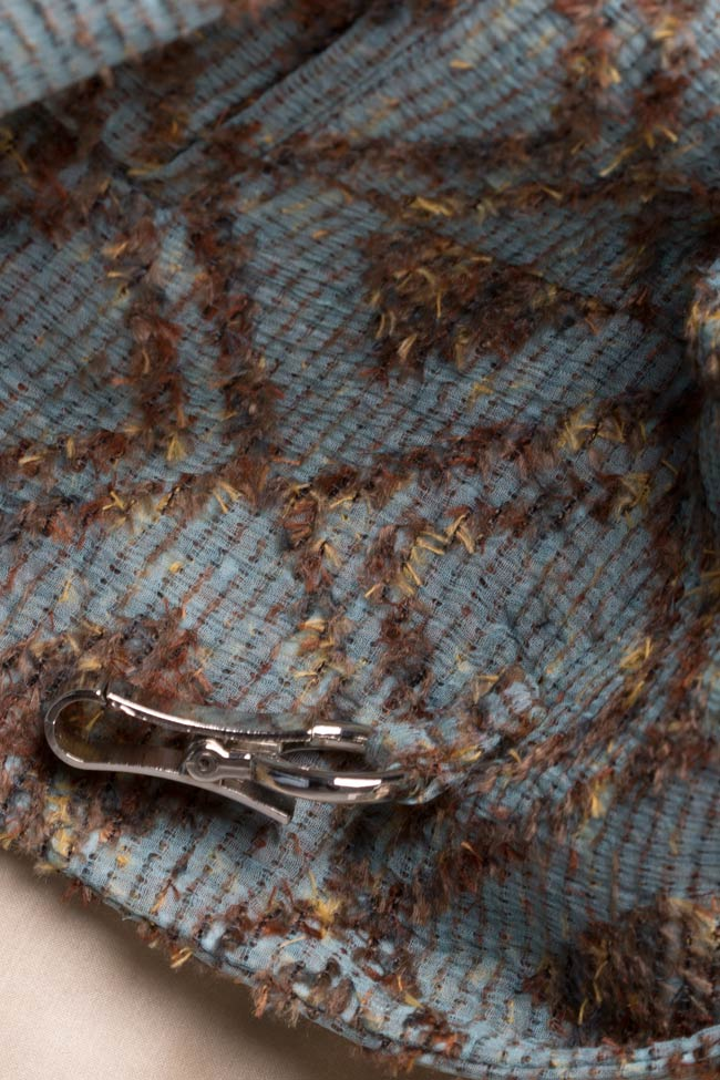 Printed wool blazer Womanland by Irina Mazilu image 4