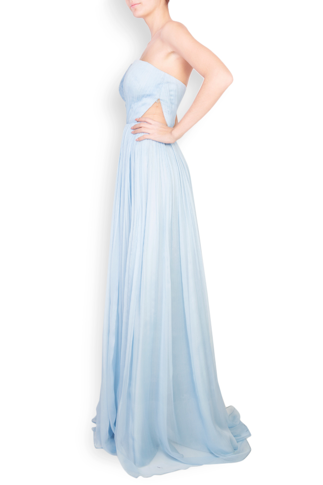 Helena cutout silk maxi dress Essa Lian image 1