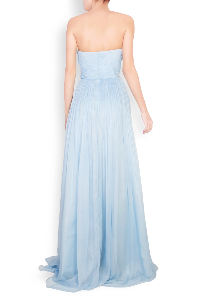 Helena cutout silk maxi dress Essa Lian image 2