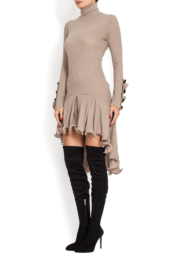 Rochie din tricot cu volane decorative BADEN 11 imagine 1