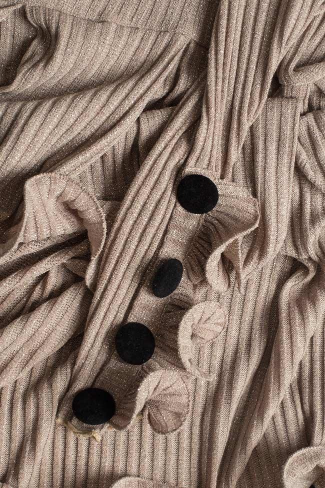 Rochie din tricot cu volane decorative BADEN 11 imagine 3