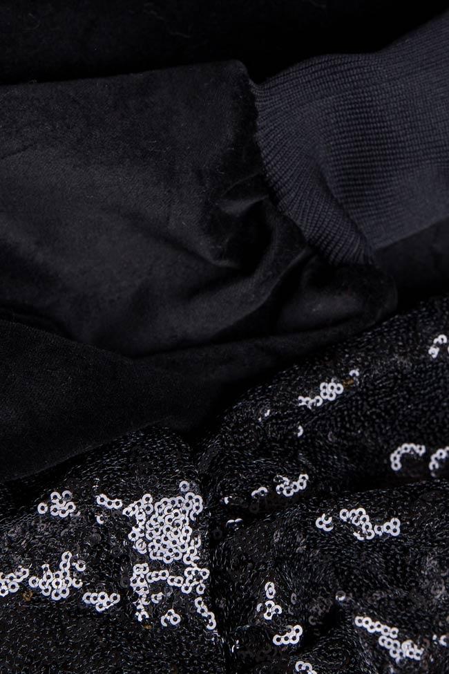 Blouson en coton avec volants et sequins BADEN 11 image 3