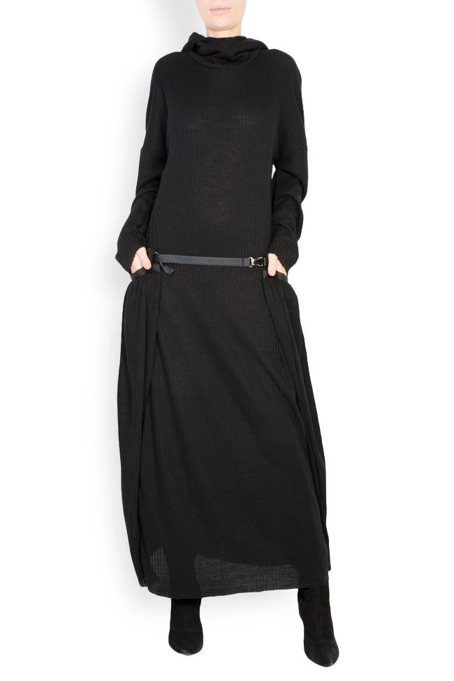 Rash wool-blend jersey maxi dress Studio Cabal image 0
