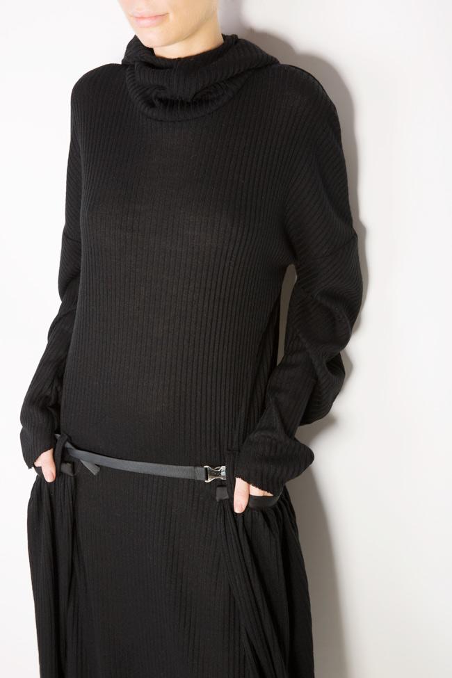 Rash wool-blend jersey maxi dress Studio Cabal image 3