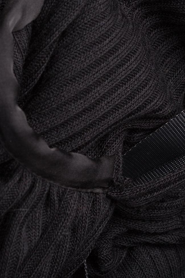 Rash wool-blend jersey maxi dress Studio Cabal image 5