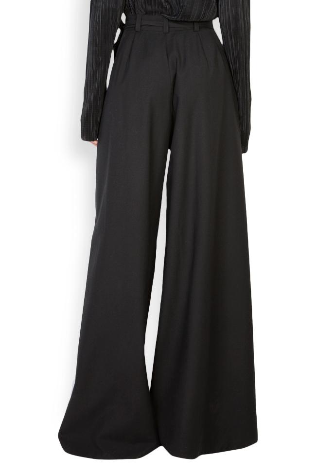 Cropped wool wide-leg pants Izabela Mandoiu image 2