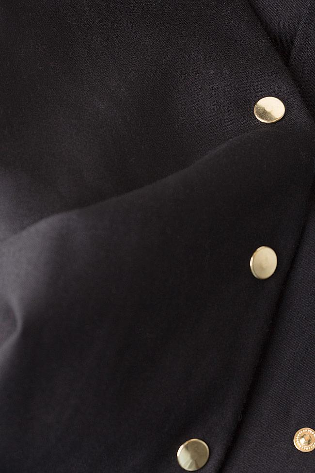 Cropped wool wide-leg pants Izabela Mandoiu image 4