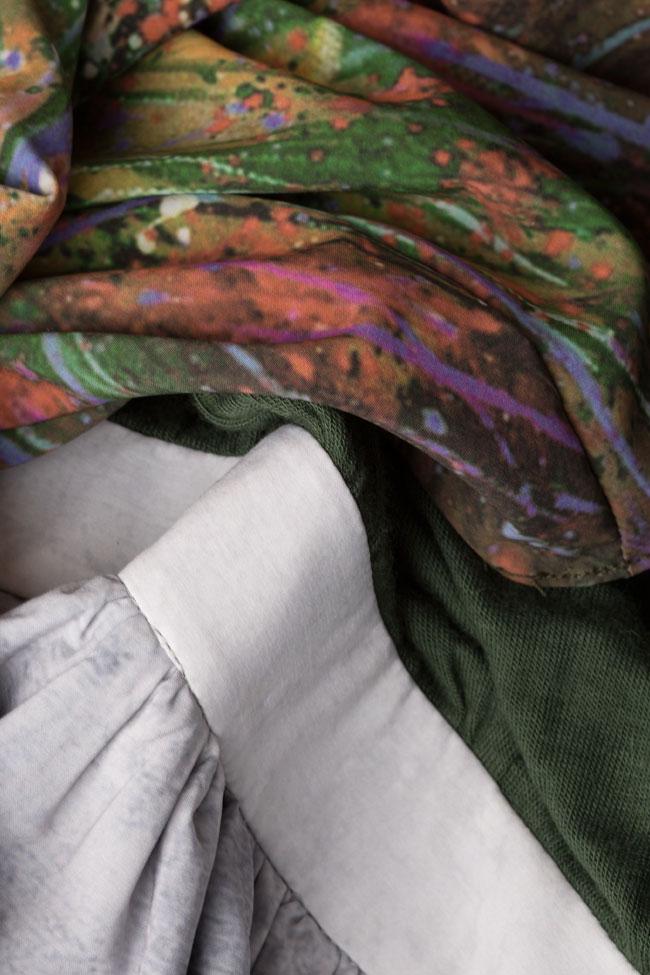 Floral-print wool maxi dress Izabela Mandoiu image 4
