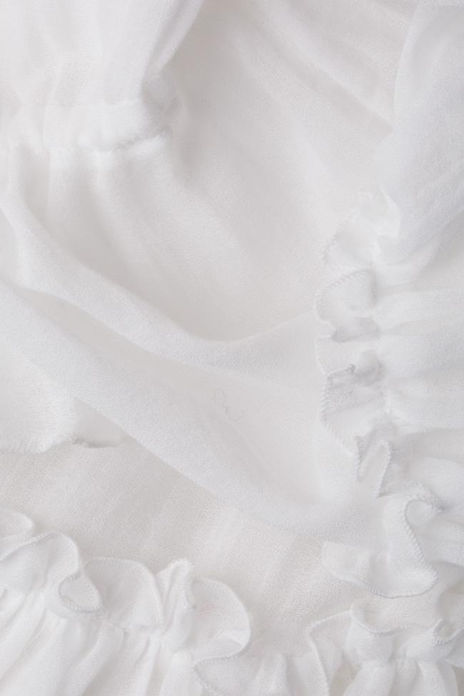Bluza tip ie din bumbac Izabela Mandoiu imagine 4